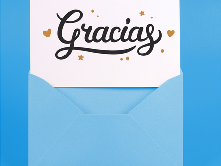 Agradecé a tus clientes por acompañar y apoyar a tu Marca con un mensaje especial y personalizado.
