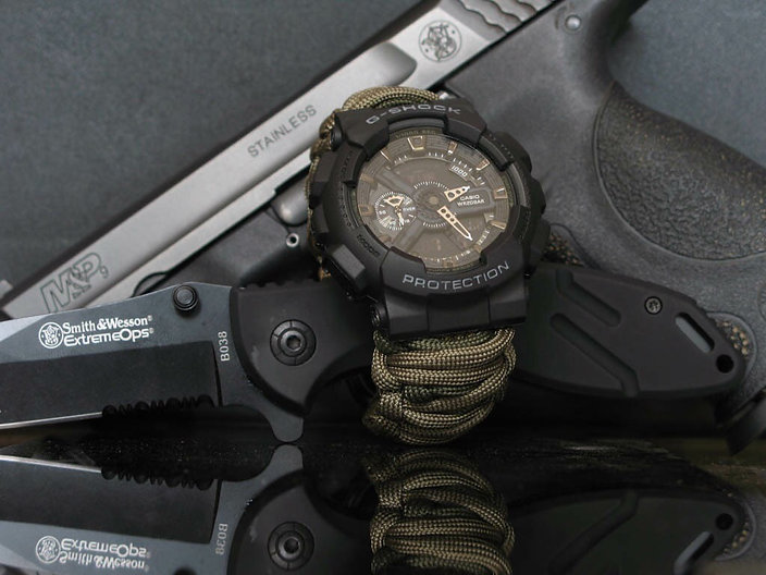 tactical custom paracord bands