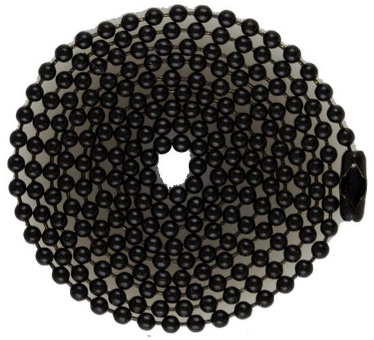 Black 04.5 inch to 24 inch Ball Chain #3