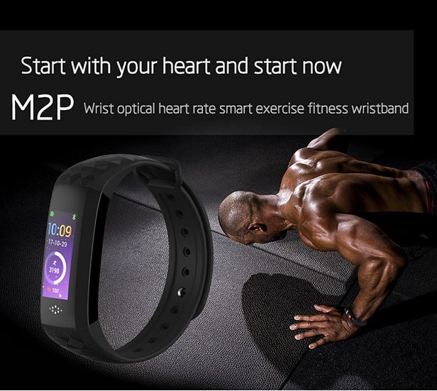M2P SMART HEALTH/FITNESS TRACKER