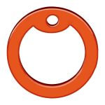 DOG TAG SILENCER ORANGE