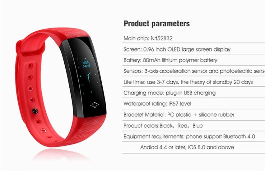 M2S Smart Band RED