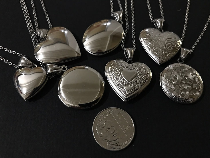 Stainless Steel Locket Necklace