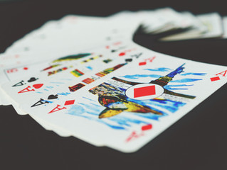 Playing the game with the cards in hand