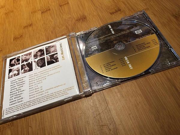 Création graphique CD (livret, coffret)