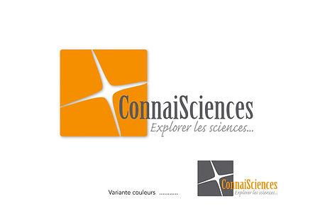 """Création Logo et charte graphique de """"Connaisciences"""" et"""