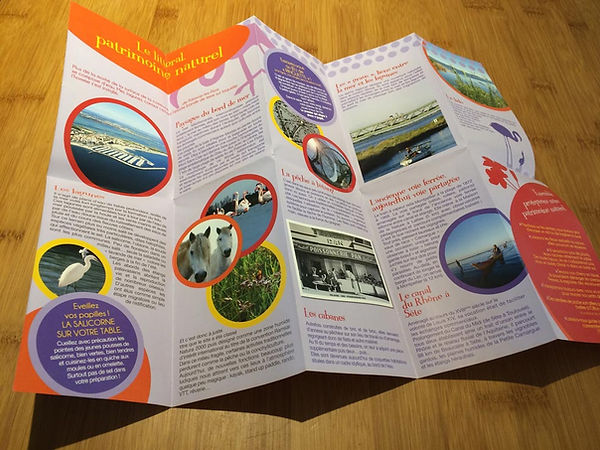 Création charte graphique et illustrations éditions touristiques