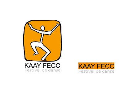 Création logo et charte graphique du Festival e danse à Dakar