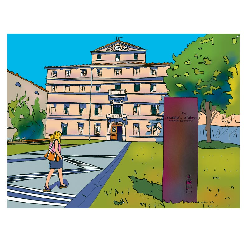 "Montpellier ""Musée Fabre"" : MUS1"