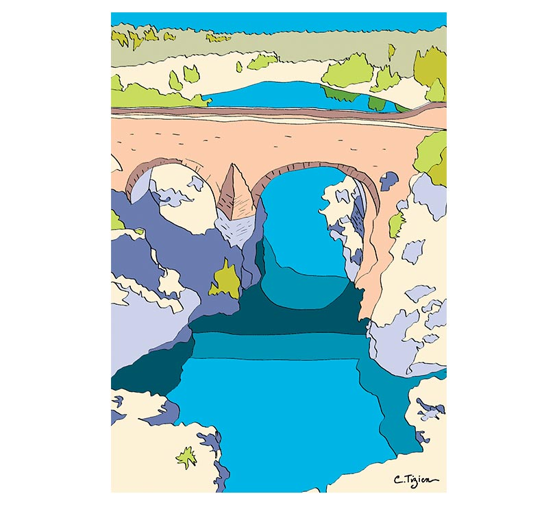 "St-Guilhem ""Pont du Diable"" : SG13"