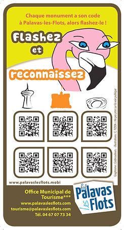 Illustration pour flyer appli tourisme