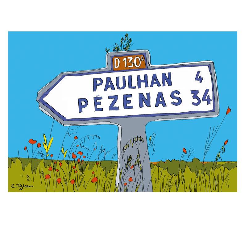 Panneau : P10