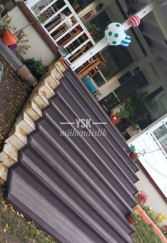 kompozit deck merdiven