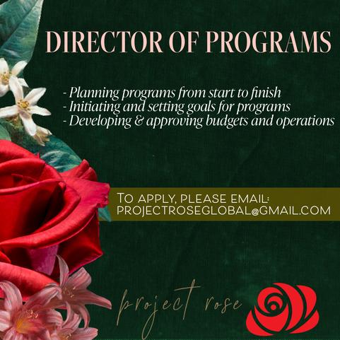 DIRECTOR OF PROGRAMS