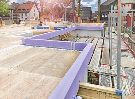 Nieuwe randbekisting JACKODUR® Maxi isoleert betonvloeren optimaal