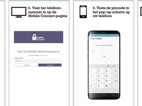 Mobile Connect lost worsteling met gebruikersnamen en wachtwoorden op