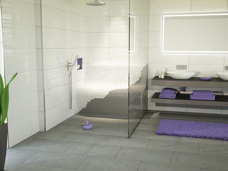 Zitbanken in de badkamer met S-Kits van JACKOBOARD