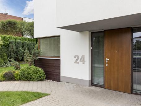 Zichtbaarheid en luxe uitstraling met grotere huisnummers