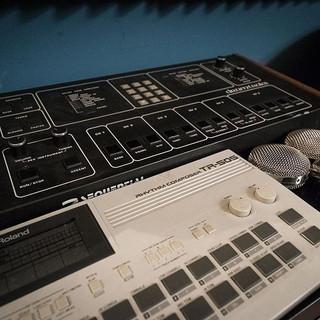 #roland #tr505 #drum #machine #cascade #