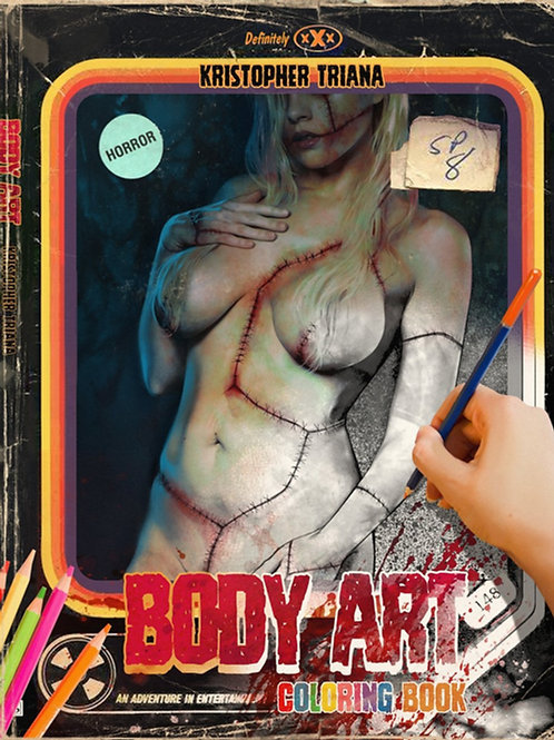 Body Art - The Coloring Book