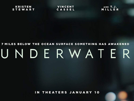 Underwater, With Monsters