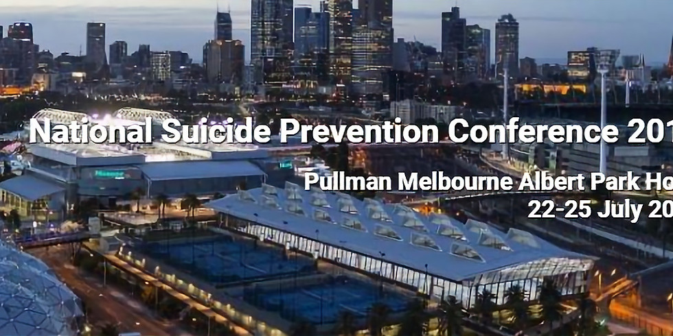 National Suicide Prevention Conference 2019