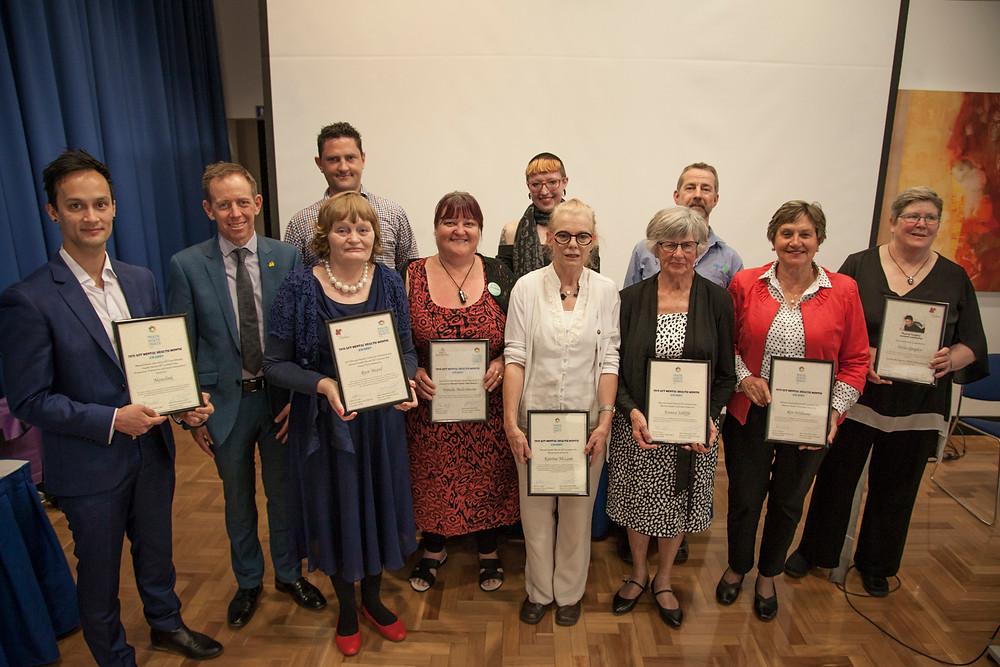 2018 MHM Award Recipients