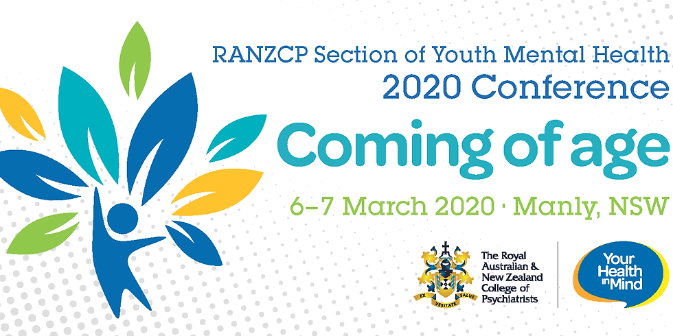 RANZCP Section for Youth Mental Health 2020 Conference