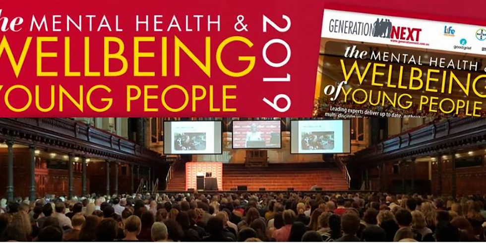 Generation Next – Mental Health and wellbeing of young people - CANBERRA