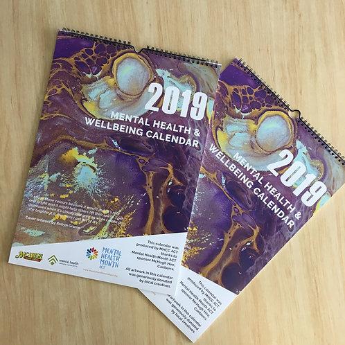 2019 Mental Health & Wellbeing Calendar