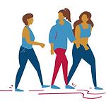 Walk for good mental health