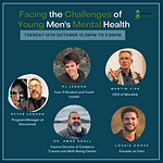 Facing the Challenges of Young Men's Mental Health - A Panel Discussion