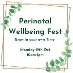 Perinatal Wellbeing Fest