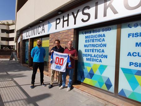 Firma del convenio de colaboración con la clínica PHYSIKO