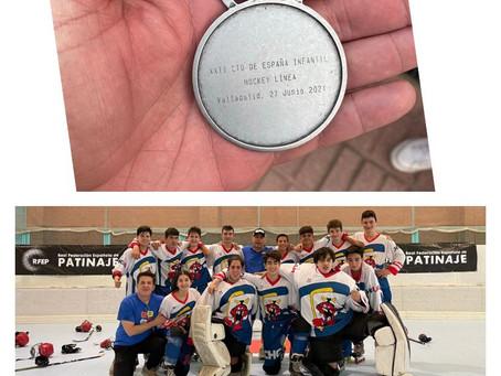 Cerramos la temporada con una plata en el Campeonato de España infantil