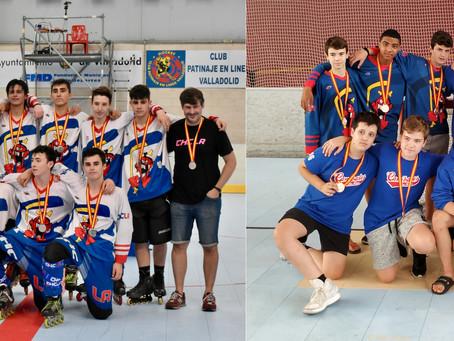 Una plata y un bronce en el primer fin de semana de Campeonatos de España