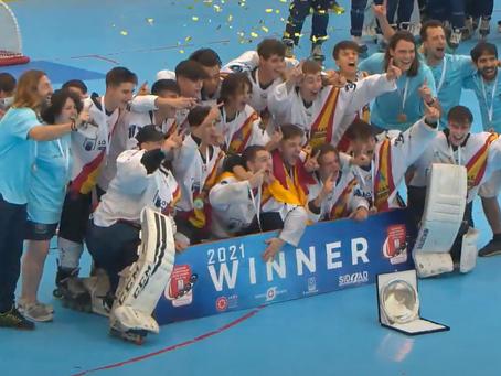 La selección española, con dos Caníbales en sus filas, Campeona de Europa sub-18