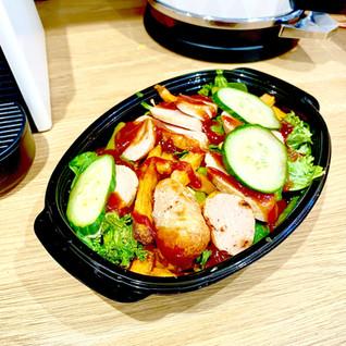 Chicken Sausage + SP Fries.JPG