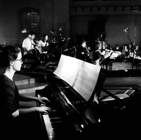 Orchestral piano