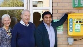 Defibrillators installed across three neighbourhood sites in city