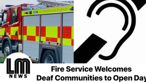 Leicestershire Fire Service Welcomes Deaf Communities to Open Day