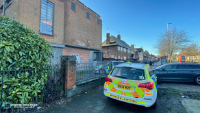 A cannabis factory found in old disused Sub Station in the city