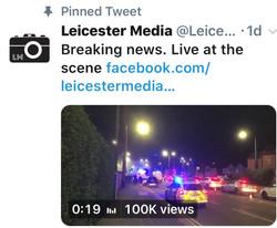 Leicester Media Twitter