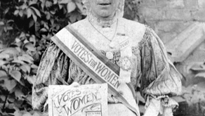 Leicester suffragette honoured at fund-raising lunch