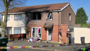 House Fire destroys bedroom in Barwell