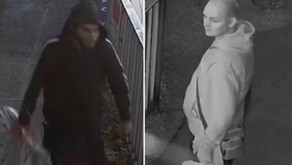 Police Appeal to speak to men following arson