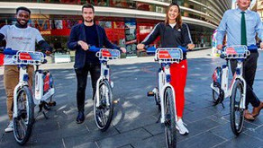Dame Jessica Ennis-Hill lends her support to Santander Cycles Leicester