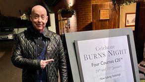 Burns Night at The Castle Hotel - Kirby Muxloe