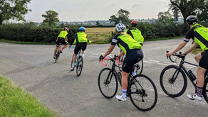 Leicestershire Cycle Clubs help spread Share The Road road safety message