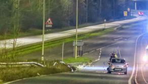 Fatal car crash in Leicester